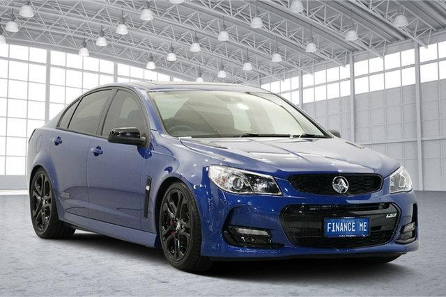 Used Holden Commodore VF II MY17 SS V Redline, 2017 Holden Commodore VF II MY17 SS V Redline Blue 6 Speed Manual Sedan