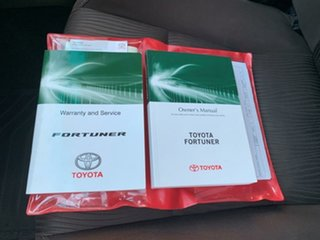 2016 Toyota Fortuner GUN156R GXL Silver 6 Speed Automatic Wagon
