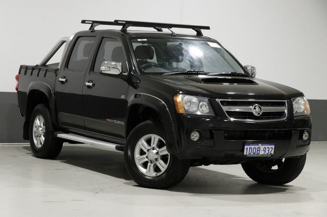 Used Holden Colorado RC MY11 LT-R (4x4), 2011 Holden Colorado RC MY11 LT-R (4x4) Black 4 Speed Automatic Crew Cab Pickup