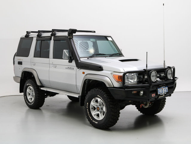 Used Toyota Landcruiser VDJ76R GXL (4x4), 2009 Toyota Landcruiser VDJ76R GXL (4x4) Silver 5 Speed Manual Wagon