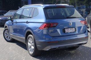 2018 Volkswagen Tiguan 5N MY18 110TSI DSG 2WD Comfortline Blue Silk Metallic 6 Speed.