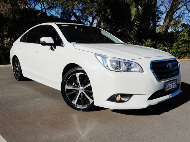 Used Subaru Liberty B6 MY17 2.5i CVT AWD, 2017 Subaru Liberty B6 MY17 2.5i CVT AWD White 6 Speed Constant Variable Sedan