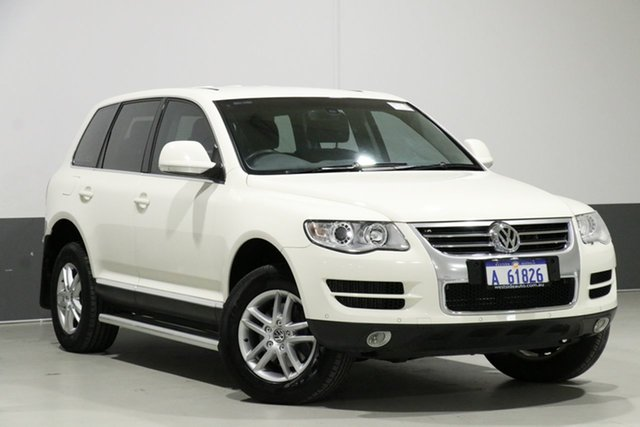 Used Volkswagen Touareg 7L MY09 Upgrade V6 TDI, 2009 Volkswagen Touareg 7L MY09 Upgrade V6 TDI White 6 Speed Tiptronic Wagon