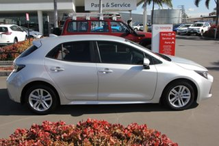 2018 Toyota Corolla ZRE182R SX S-CVT Silver Pearl 7 Speed Constant Variable Hatchback.