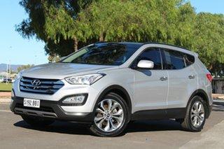 2013 Hyundai Santa Fe DM MY14 Highlander Silver 6 Speed Sports Automatic Wagon.