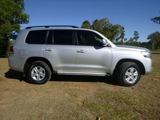 2016 Toyota Landcruiser VDJ200R MY16 GXL (4x4) Silver Pearl 6 Speed Automatic Wagon.
