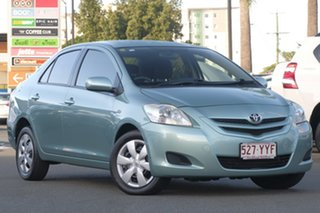 2007 Toyota Yaris NCP93R YRS Turquoise Metallic/d 4 Speed Automatic Sedan.