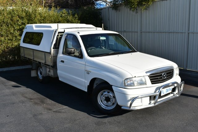 Used Mazda Bravo B2600 DX 4x2, 2006 Mazda Bravo B2600 DX 4x2 White 5 Speed Manual Cab Chassis