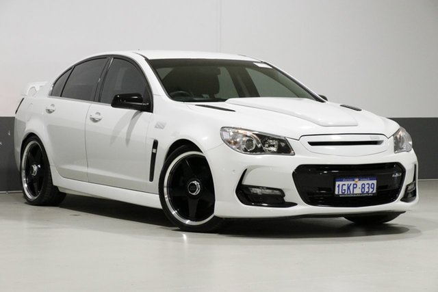 Used Holden Commodore VF II SS-V, 2016 Holden Commodore VF II SS-V White 6 Speed Automatic Sedan