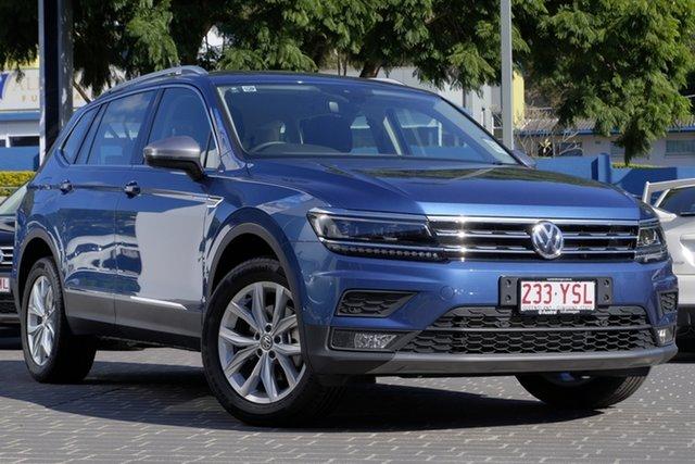 Demo Volkswagen Tiguan 5N MY18 110TSI DSG 2WD Comfortline, 2018 Volkswagen Tiguan 5N MY18 110TSI DSG 2WD Comfortline Blue Silk Metallic 6 Speed
