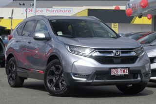 2018 Honda CR-V RW MY19 VTi-LX 4WD Lunar Silver 1 Speed Constant Variable Wagon.