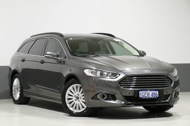 Used Ford Mondeo MD Trend TDCi, 2016 Ford Mondeo MD Trend TDCi Magnetic 6 Speed Automatic Wagon