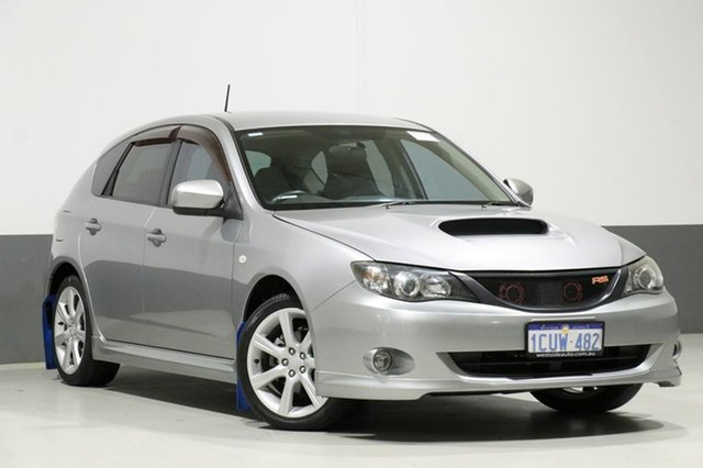 Used Subaru Impreza MY08 RS (AWD), 2008 Subaru Impreza MY08 RS (AWD) Silver 5 Speed Manual Hatchback