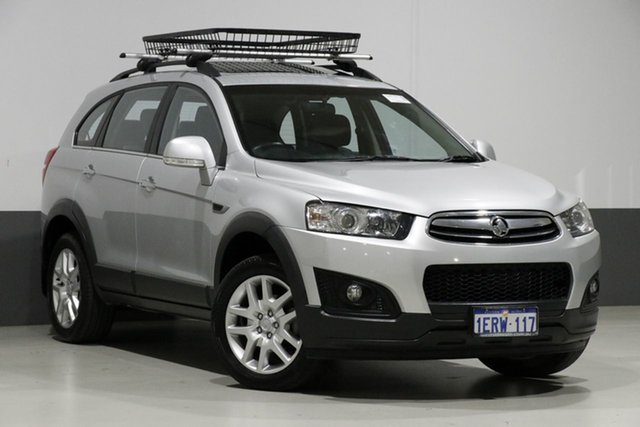 Used Holden Captiva CG MY15 7 LS Active (FWD), 2015 Holden Captiva CG MY15 7 LS Active (FWD) Silver 6 Speed Automatic Wagon