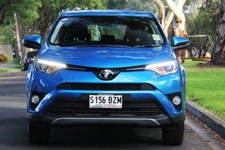 2018 Toyota RAV4 ZSA42R GX 2WD Blue Gem 7 Speed Constant Variable Wagon.