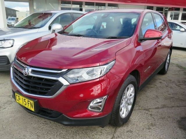 Used Holden Equinox EQ MY18 LS+ FWD, 2018 Holden Equinox EQ MY18 LS+ FWD Glory Red/grey 6 Speed Sports Automatic Wagon