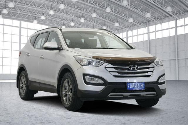 Used Hyundai Santa Fe DM2 MY15 Active, 2015 Hyundai Santa Fe DM2 MY15 Active Sleek Silver 6 Speed Sports Automatic Wagon