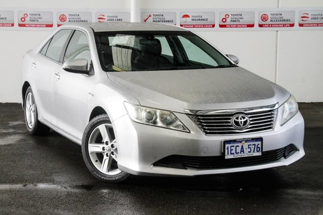 Used Toyota Aurion GSV50R AT-X, 2012 Toyota Aurion GSV50R AT-X Silver Pearl 6 Speed Automatic Sedan