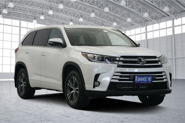 Used Toyota Kluger GSU50R GX 2WD, 2018 Toyota Kluger GSU50R GX 2WD Crystal Pearl 8 Speed Sports Automatic Wagon