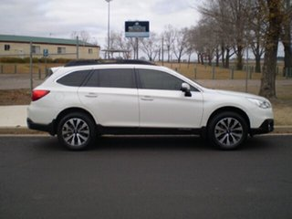 2017 Subaru Outback B6A MY17 2.5i CVT AWD Fleet Edition White 6 Speed Constant Variable Wagon.