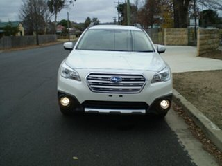 2017 Subaru Outback B6A MY17 2.5i CVT AWD Fleet Edition White 6 Speed Constant Variable Wagon