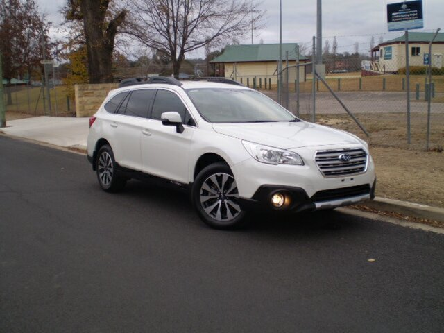Used Subaru Outback B6A MY17 2.5i CVT AWD Fleet Edition, 2017 Subaru Outback B6A MY17 2.5i CVT AWD Fleet Edition White 6 Speed Constant Variable Wagon