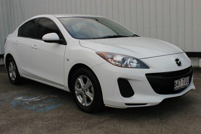 Used Mazda 3 BL10F2 MY13 Neo, 2013 Mazda 3 BL10F2 MY13 Neo White 6 Speed Manual Sedan