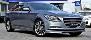 2015 Hyundai Genesis DH Sensory Pack Polished Metal 8 Speed Sports Automatic Sedan.