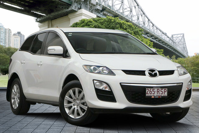 Used Mazda CX-7 ER10L2 Classic Activematic, 2011 Mazda CX-7 ER10L2 Classic Activematic White 5 Speed Sports Automatic Wagon