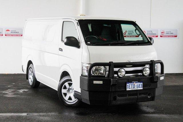Used Toyota HiAce KDH201R MY14 LWB, 2014 Toyota HiAce KDH201R MY14 LWB French Vanilla 4 Speed Automatic Van