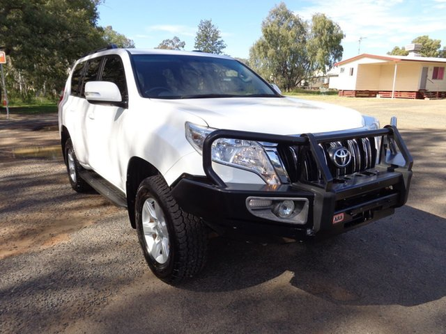 Used Toyota Landcruiser Prado GDJ150R MY16 GXL (4x4), 2015 Toyota Landcruiser Prado GDJ150R MY16 GXL (4x4) Glacier White 6 Speed Manual Wagon
