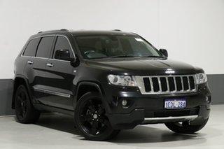 2013 Jeep Grand Cherokee WK MY13 Limited (4x4) Black 5 Speed Automatic Wagon.