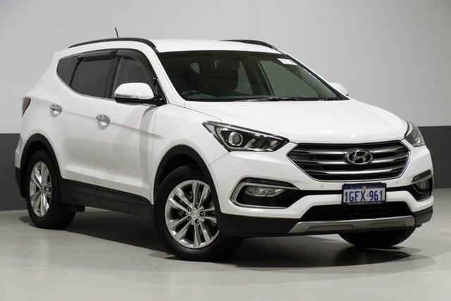 Used Hyundai Santa Fe DM Series II (DM3)MY17 Elite CRDi (4x4), 2017 Hyundai Santa Fe DM Series II (DM3)MY17 Elite CRDi (4x4) White 6 Speed Automatic Wagon