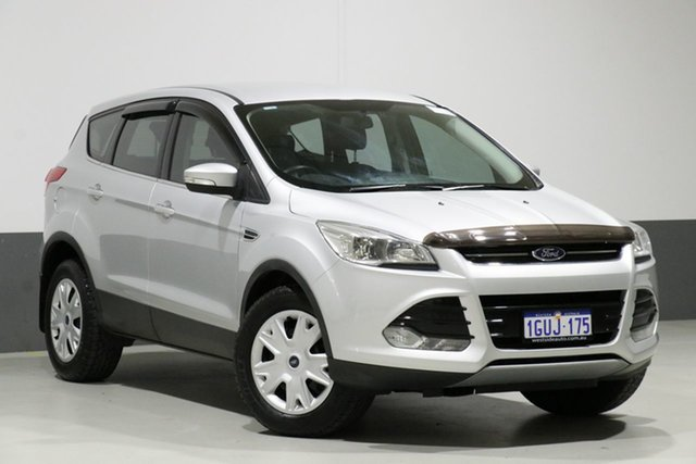 Used Ford Kuga TF MK 2 Ambiente (AWD), 2014 Ford Kuga TF MK 2 Ambiente (AWD) Silver 6 Speed Automatic Wagon