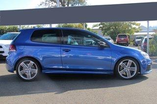 2010 Volkswagen Golf VI MY10 R DSG 4MOTION Blue 6 Speed Sports Automatic Dual Clutch Hatchback.
