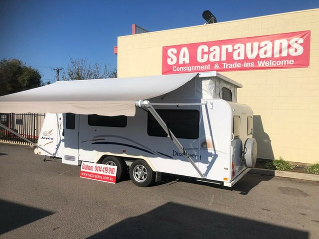 Used Jayco   , 2009 Jayco Discovery SINGLE BEDS annex Pop Top