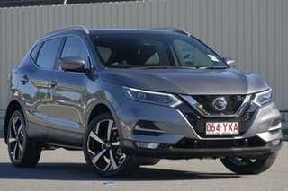 2018 Nissan Qashqai J11 Series 2 Ti X-tronic Gun Metallic 1 Speed Constant Variable Wagon.