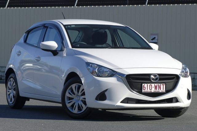 Used Mazda 2 DJ2HA6 Neo SKYACTIV-MT, 2016 Mazda 2 DJ2HA6 Neo SKYACTIV-MT White 6 Speed Manual Hatchback