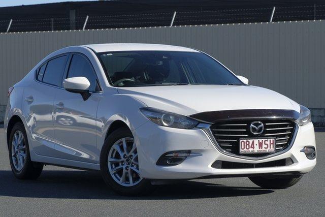 Used Mazda 3 BN5278 Touring SKYACTIV-Drive, 2016 Mazda 3 BN5278 Touring SKYACTIV-Drive White 6 Speed Sports Automatic Sedan