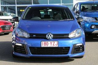2010 Volkswagen Golf VI MY10 R DSG 4MOTION Blue 6 Speed Sports Automatic Dual Clutch Hatchback