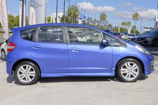 2012 Honda Jazz GE MY12 Vibe-S Blue 5 Speed Automatic Hatchback.