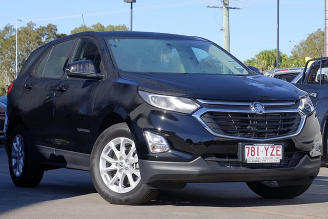 Demo Holden Equinox EQ MY18 LS FWD, 2017 Holden Equinox EQ MY18 LS FWD Black 6 Speed Sports Automatic Wagon