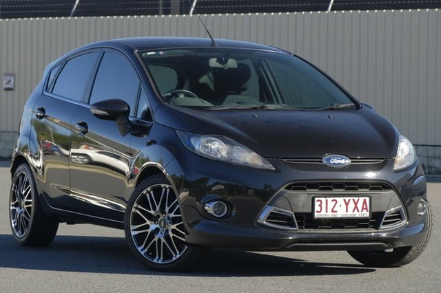 Used Ford Fiesta WT Zetec, 2013 Ford Fiesta WT Zetec Black 5 Speed Manual Hatchback