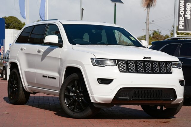 New Jeep Grand Cherokee WK MY19 Night Eagle, 2019 Jeep Grand Cherokee WK MY19 Night Eagle Bright White 8 Speed Sports Automatic Wagon