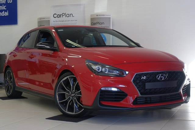 New Hyundai i30 PDe.3 MY19 N Fastback Performance, 2019 Hyundai i30 PDe.3 MY19 N Fastback Performance Engine Red 6 Speed Manual Coupe