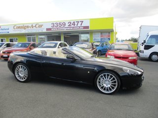 2005 Aston Martin DB9 MY05 Volante Black 6 Speed Sports Automatic Convertible.