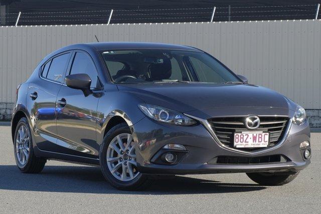 Used Mazda 3 BM5478 Maxx SKYACTIV-Drive, 2015 Mazda 3 BM5478 Maxx SKYACTIV-Drive Meteor Grey 6 Speed Sports Automatic Hatchback