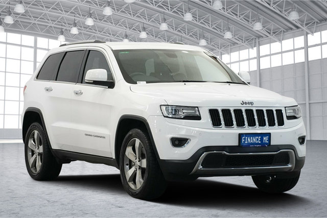 Used Jeep Grand Cherokee WK MY2014 Limited, 2014 Jeep Grand Cherokee WK MY2014 Limited White 8 Speed Sports Automatic Wagon