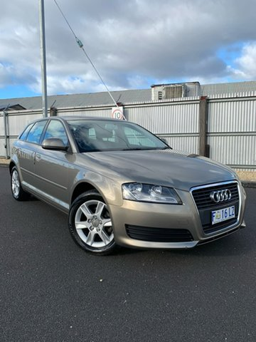 Used Audi A3 8P MY09 Attraction Sportback S Tronic, 2008 Audi A3 8P MY09 Attraction Sportback S Tronic Bronze 7 Speed Sports Automatic Dual Clutch