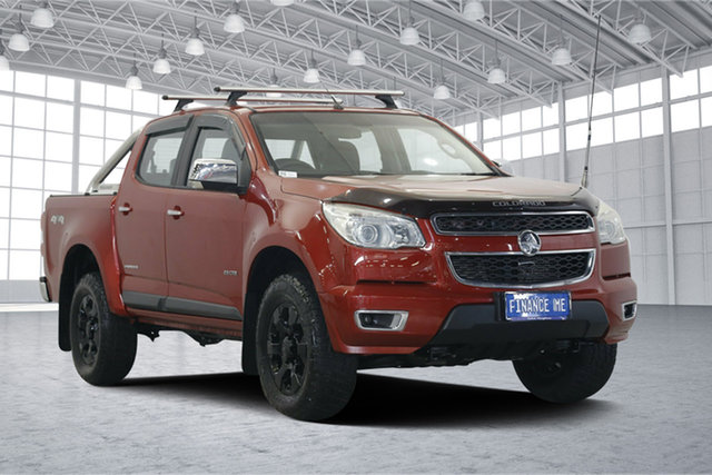 Used Holden Colorado RG MY13 LTZ Crew Cab 4x2, 2013 Holden Colorado RG MY13 LTZ Crew Cab 4x2 Red 6 Speed Sports Automatic Utility